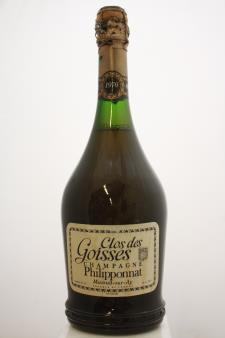 Philipponnat Clos des Goisses Brut 1970