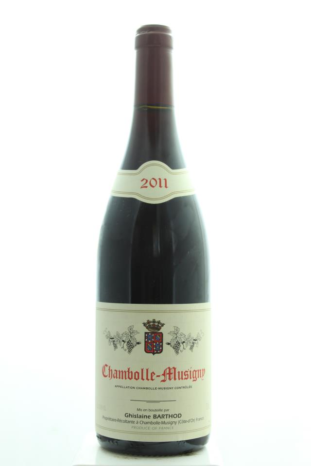 Ghislaine Barthod Chambolle-Musigny 2011