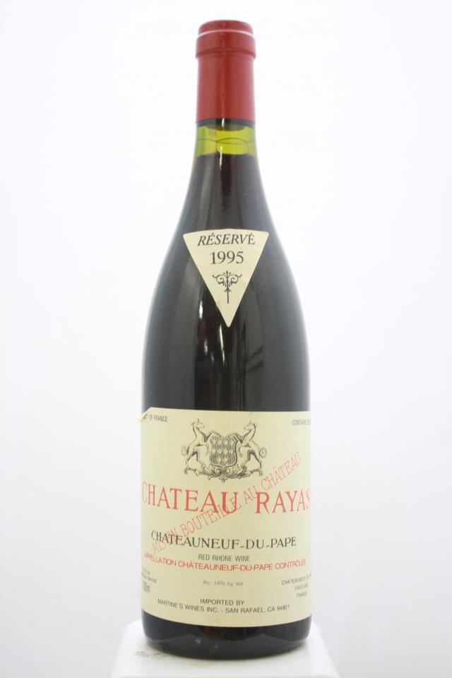Château Rayas Châteauneuf-du-Pape Réservé 1995