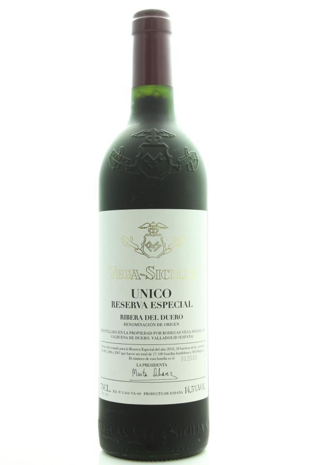 Vega-Sicilia Único Reserva Especial (2018 Release) NV