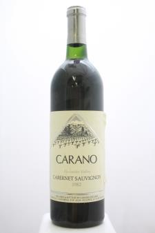 Carano Cabernet Sauvignon Alexander Valley 1982
