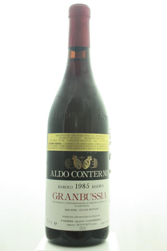 Aldo Conterno Barolo Granbussia Riserva 1985