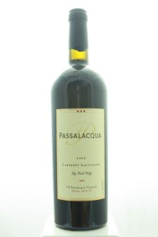 Passalacqua Cabernet Sauvignon TR Passalacqua Vineyard Blocks 18 & 19 2008