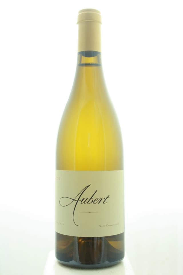 Aubert Chardonnay Estate Sugar Shack 2012