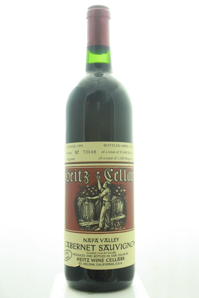 Heitz Cellar Cabernet Sauvignon Martha's Vineyard 1991