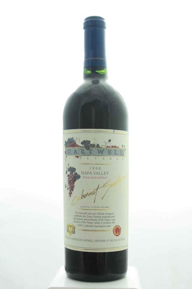 Hartwell Vineyards Cabernet Sauvignon Estate 1990