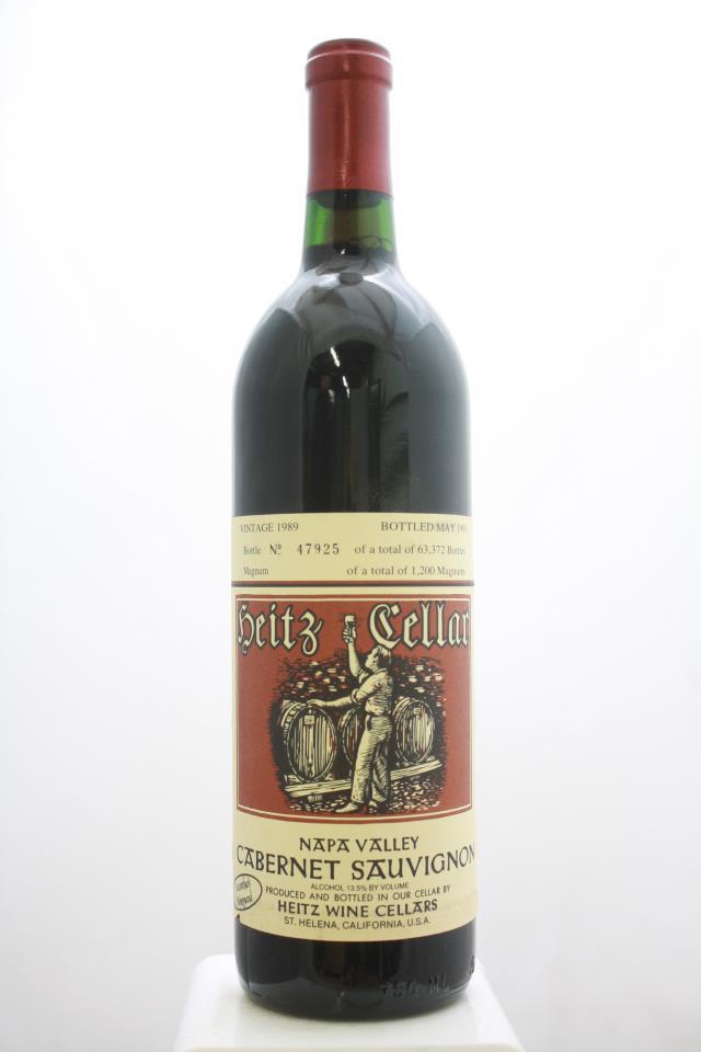 Heitz Cellar Cabernet Sauvignon Martha's Vineyard 1989