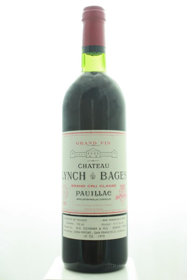 Lynch-Bages 1982