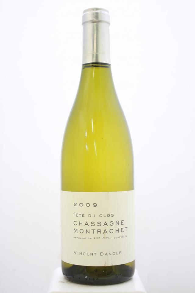 Vincent Dancer Chassagne-Montrachet Tête du Clos 2009