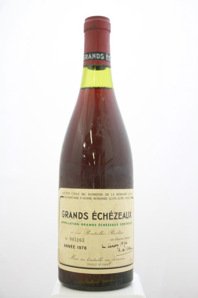 Domaine de la Romanée-Conti Grands Echézeaux 1978