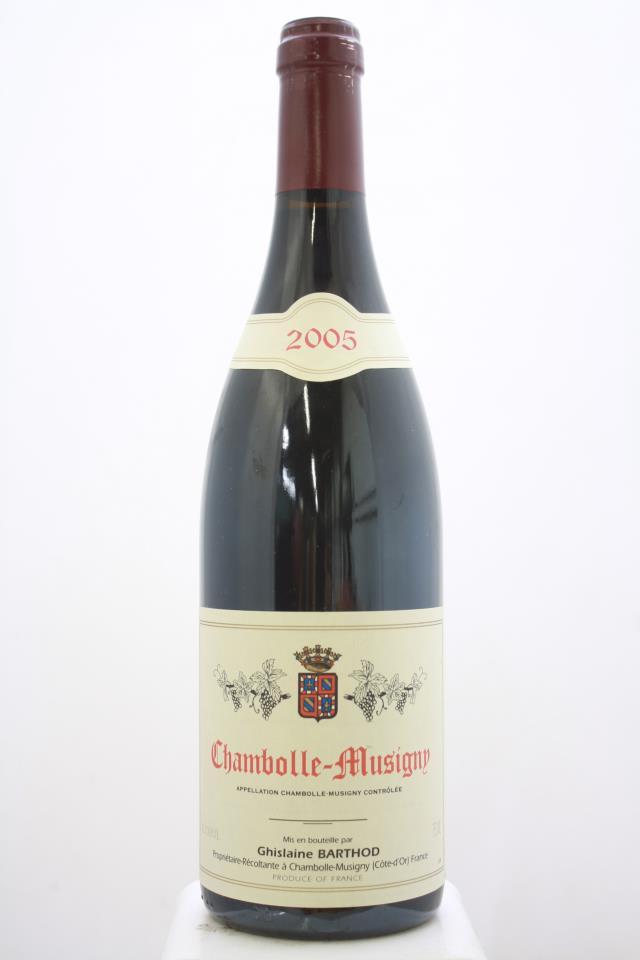 Ghislaine Barthod Chambolle-Musigny 2005