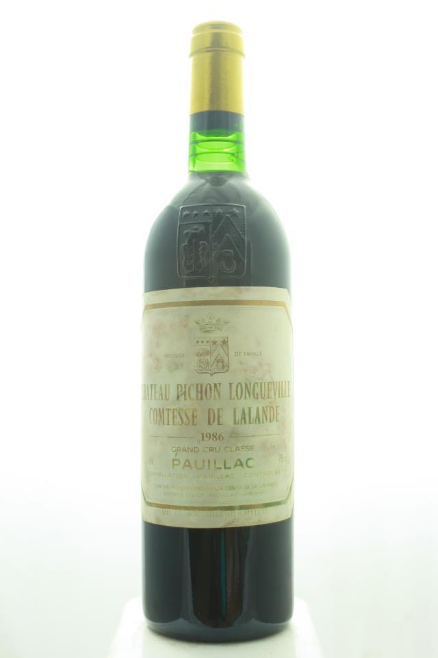 Pichon-Longueville Comtesse de Lalande 1986