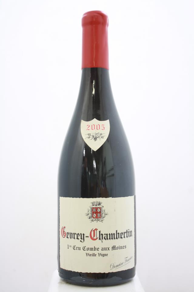Domaine Fourrier Gevrey-Chambertin Combe Aux Moines Vieille Vigne 2005