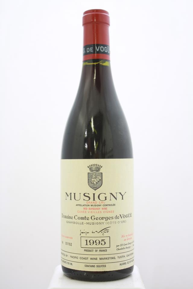 Domaine Comte Georges de Vogüé Musigny Cuvée Vieilles Vignes 1995