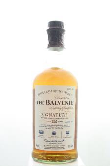 The Balvenie Single Malt Scotch Whisky Signature Matured in Three Distinct Casks Batch #4 12-Years-Old NV