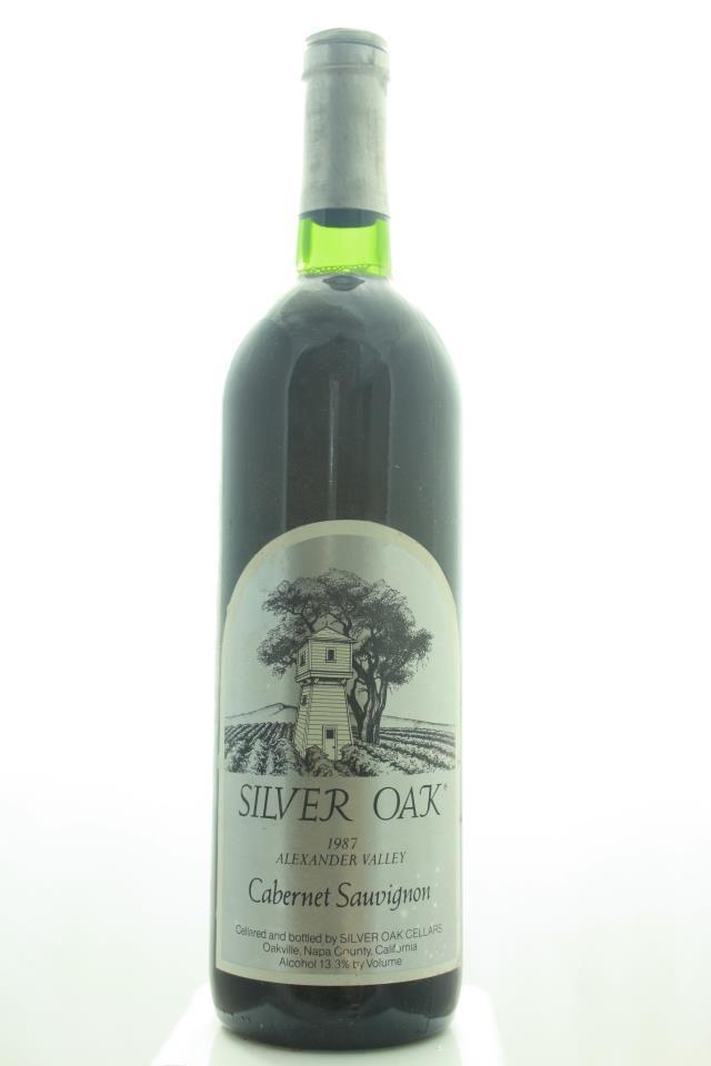 Silver Oak Cabernet Sauvignon Alexander Valley 1987