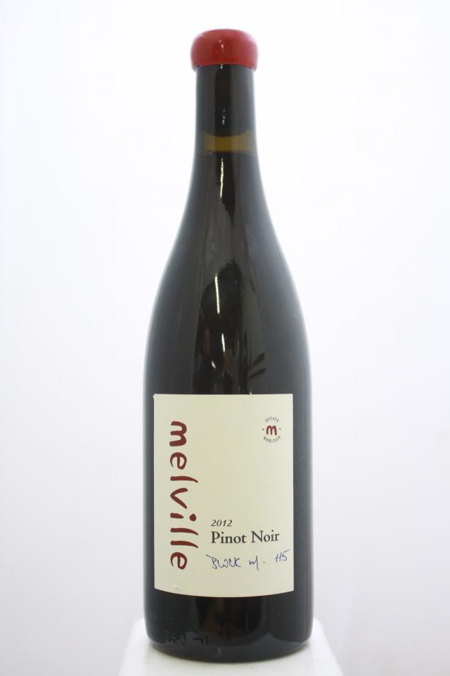Melville Pinot Noir Block M 115 2012