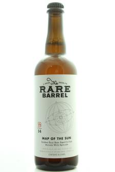 The Rare Barrel Map of the Sun Golden Sour Ale 2014