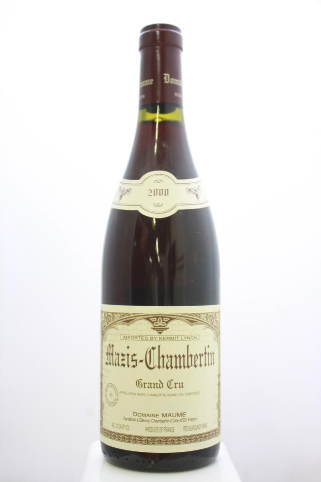 Maume Mazis-Chambertin 2000