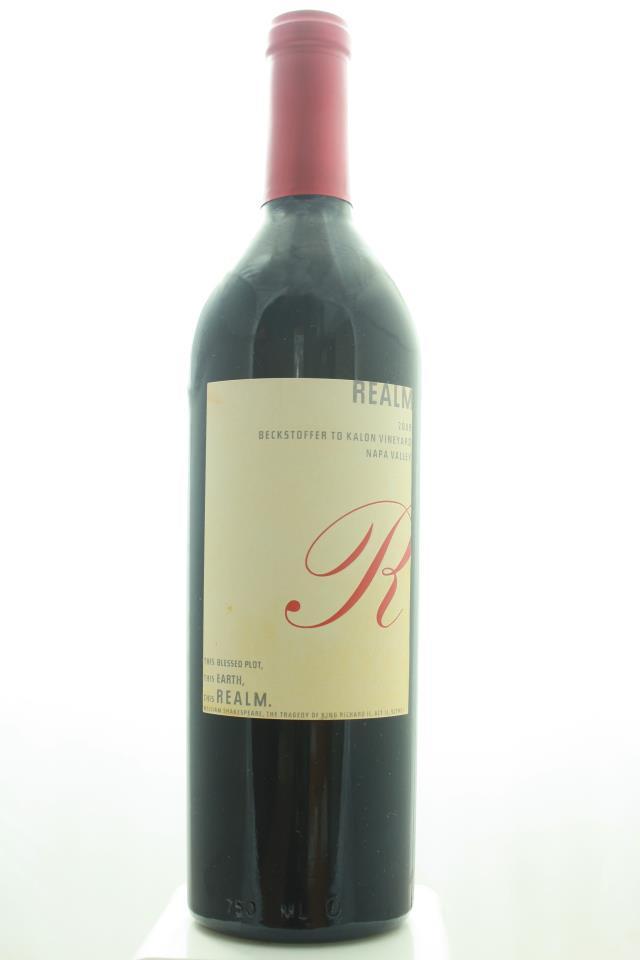 Realm Cellars Cabernet Sauvignon Beckstoffer To Kalon Vineyard 2009