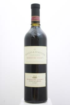 Bayless & Fortune Vineyards Zinfandel 1997