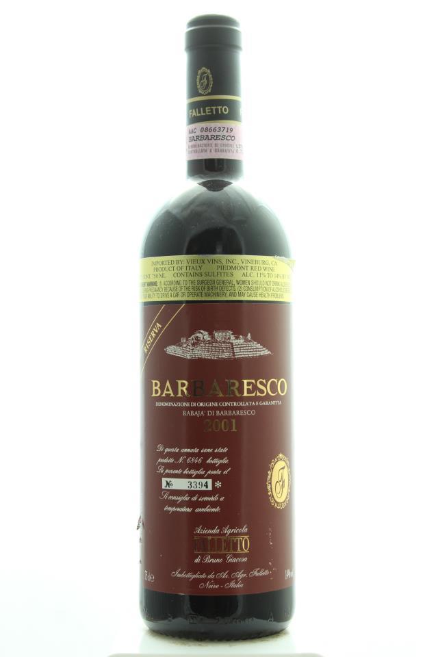 Bruno Giacosa Barbaresco Riserva Rabajà di Barbaresco 2001