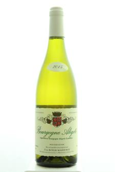 Yves Boyer-Martenot Bourgogne Aligoté 2015