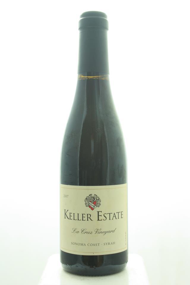 Keller Estate Syrah La Cruz Vineyard 2007