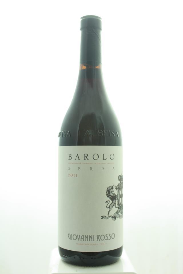 Giovanni Rosso Barolo Serra 2011