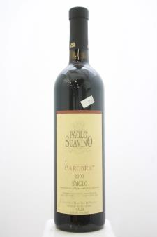 Paolo Scavino Barolo Carobric 2000