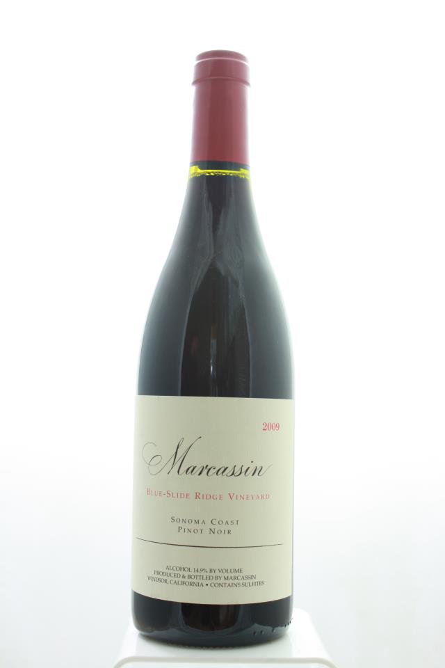 Marcassin Pinot Noir Blue-Slide Ridge Vineyard 2009
