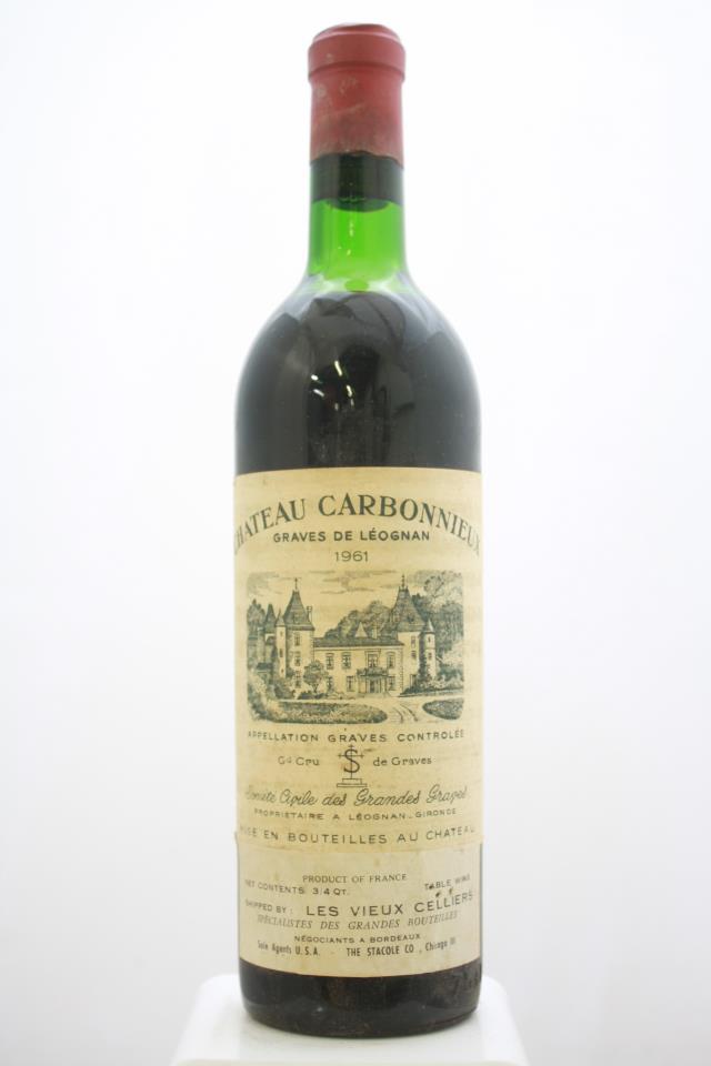Carbonnieux 1961