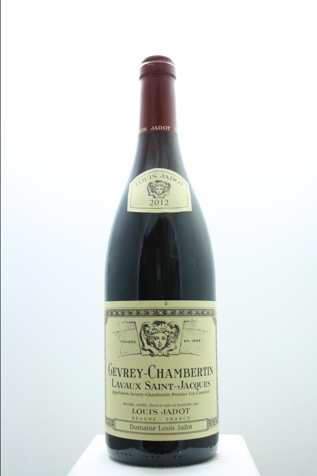 Louis Jadot (Domaine Louis Jadot) Gevrey-Chambertin Lavaux Saint-Jacques 2012