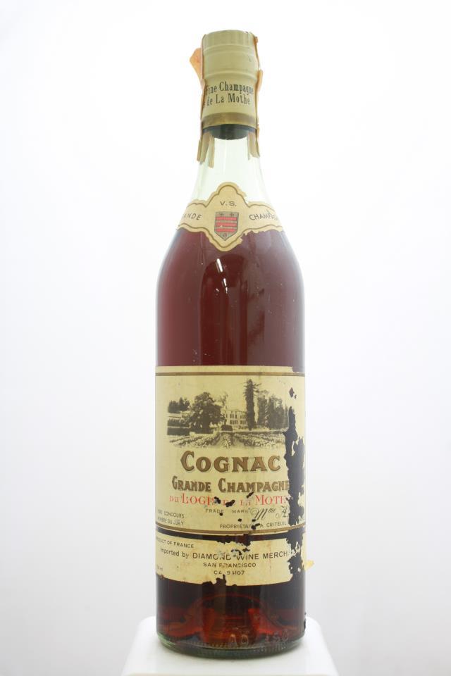 Logis de la Mothe Cognac Grande Fine Champagne V.S. NV