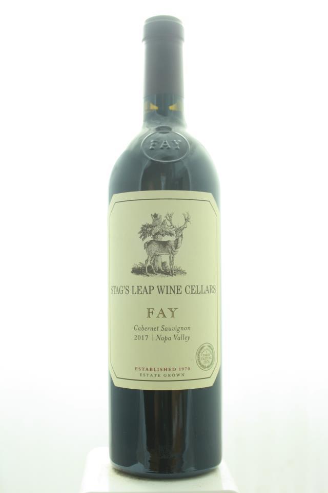 Stag's Leap Wine Cellars Cabernet Sauvignon Fay Vineyard 2017