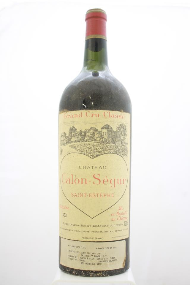 Calon-Ségur 1953