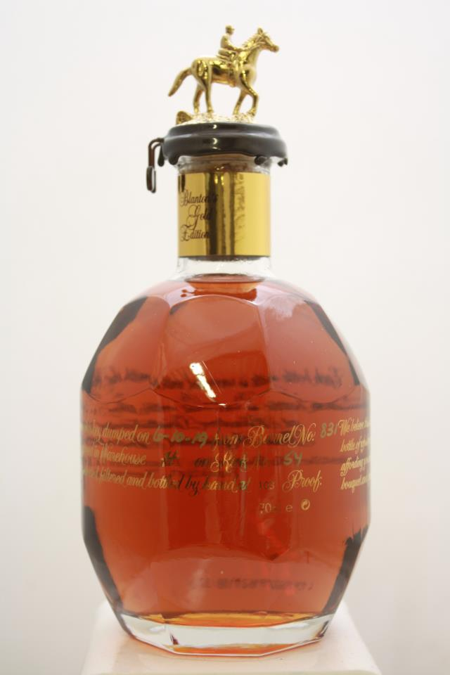 Blanton's Original Single Barrel Bourbon Whisky Gold Edition NV
