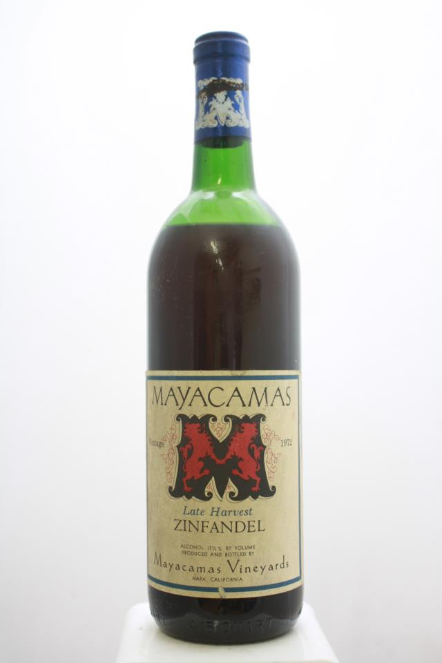 Mayacamas Zinfandel Late Harvest 1972