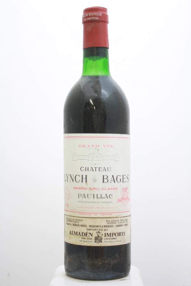 Lynch-Bages 1978