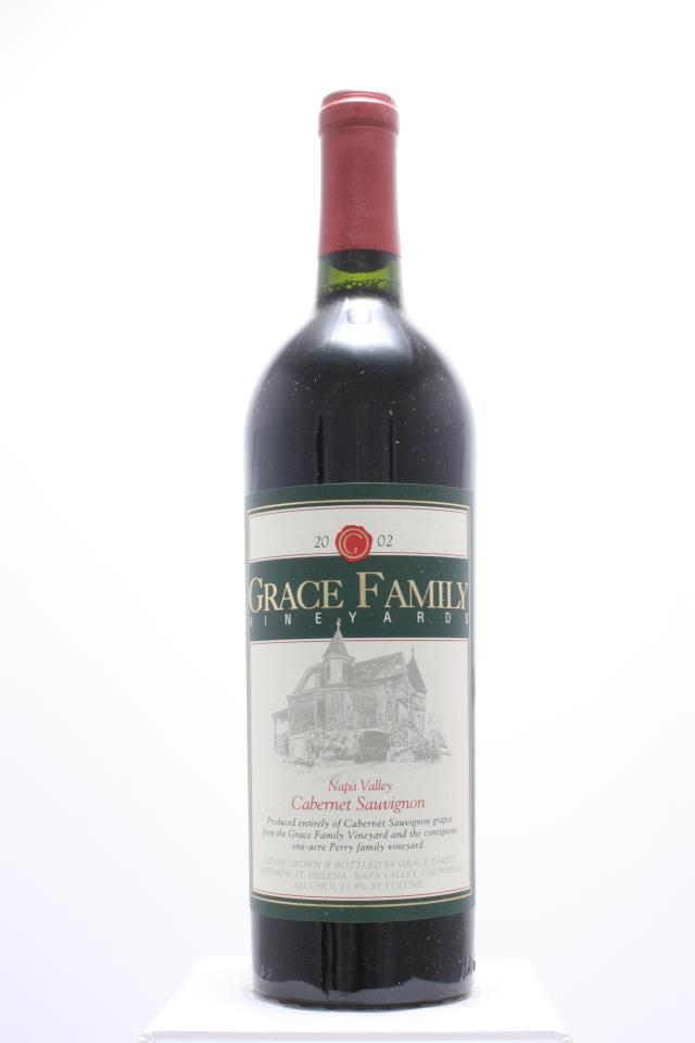 Grace Family Vineyards Cabernet Sauvignon Estate 2002