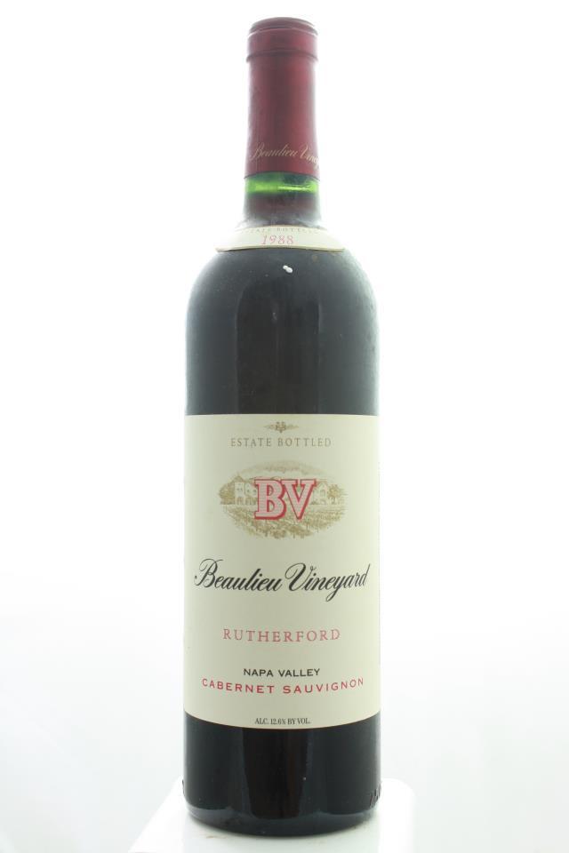 BV Cabernet Sauvignon Rutherford 1988