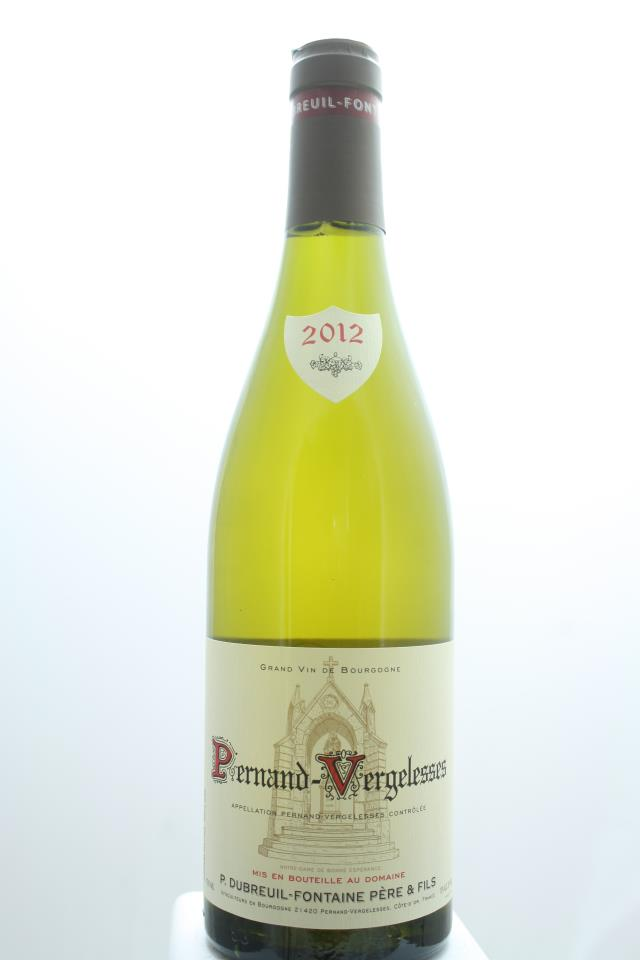 Dubreuil-Fontaine Pernand-Vergelesses Blanc 2012