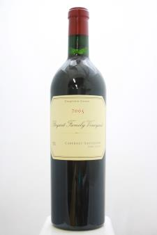 Bryant Family Vineyard Cabernet Sauvignon Estate 2005