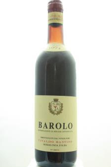 Santino Vivaldo Barolo 1974