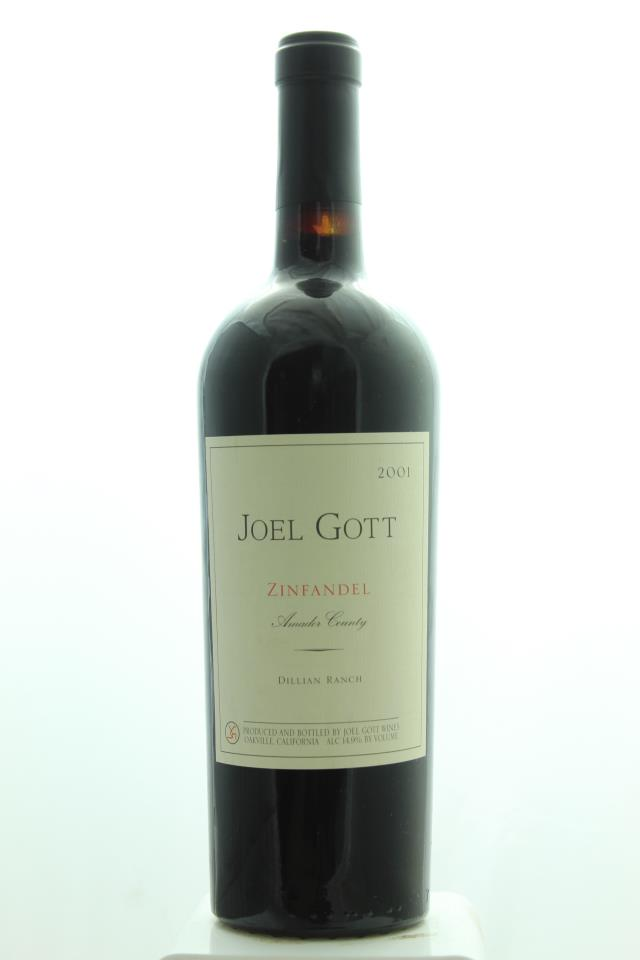 Joel Gott Zinfandel Dillian Ranch 2001