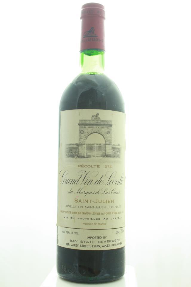 Léoville-Las Cases 1978