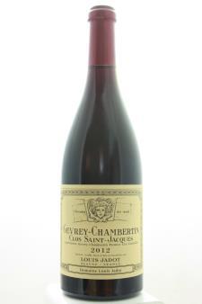Louis Jadot (Domaine Louis Jadot) Gevrey-Chambertin Clos Saint-Jacques 2012