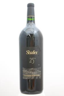 Shafer Cabernet Sauvignon 25th Anniversary Sunspot Vineyard 2001
