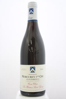 Les Héritiers Saint-Genys Mercurey 1er Cru Clos Marcilly Cuvée Clovis 2018