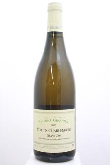 Vincent Girardin Corton Charlemagne 2002